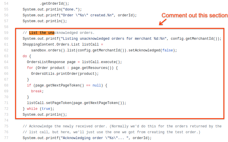 Best Practices with the Orders API | Content API for Shopping