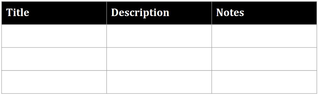 Format header row recipe result
