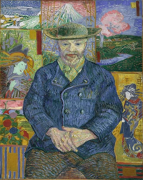 Portrait of Pere Tanguy By Vincent van Gogh - Musée Rodin, Public Domain, https://commons.wikimedia.org/w/index.php?curid=119599