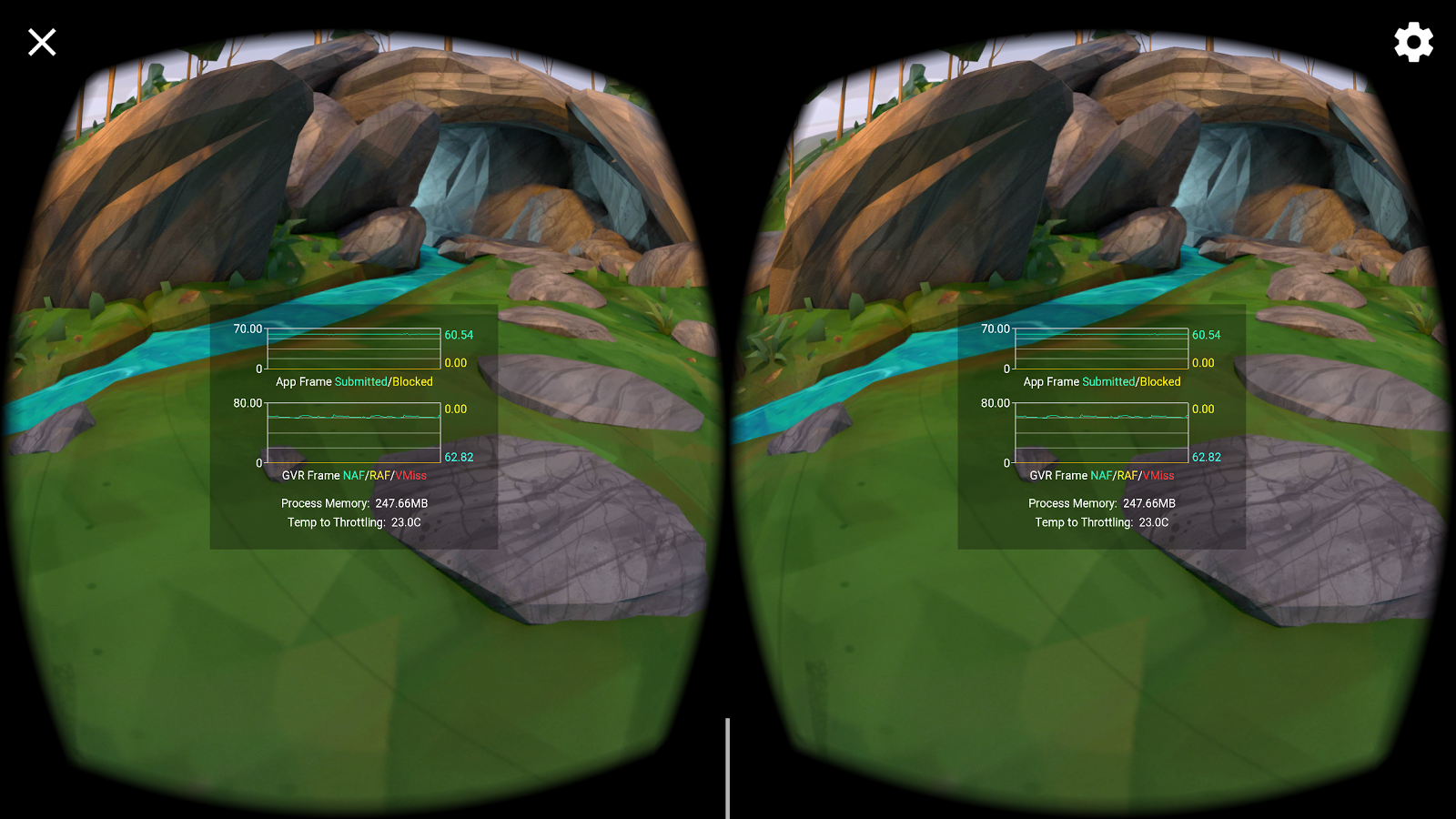Performance HUD | Google VR | Google Developers