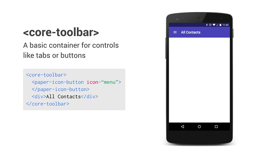 Polymer helps developers build applications faster