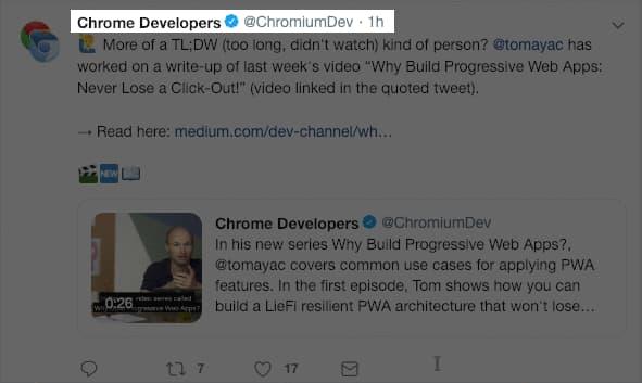 New in Chrome 71   Web   Google Developers